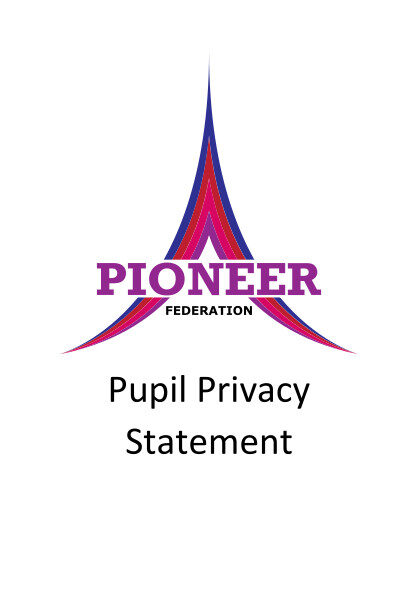Pupil Privacy Statement