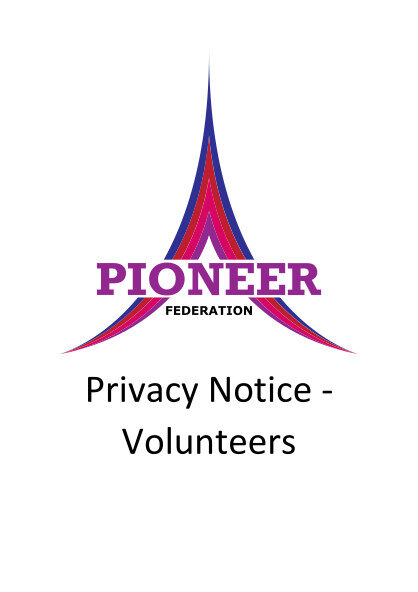 Privacy Notice – Volunteers