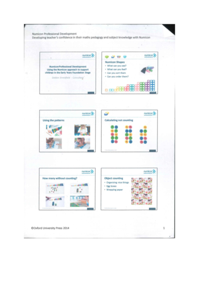 Numicon Training Powerpoint