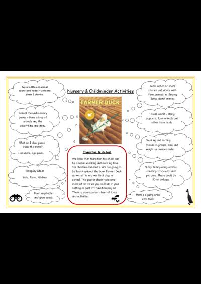 Nursery & Childminder Activities